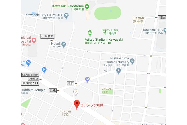 1K マンション 川崎市川崎区 内装