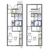 1K Apartment to Rent in Mitaka-shi Floorplan