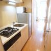 1K Apartment to Rent in Minato-ku Kitchen