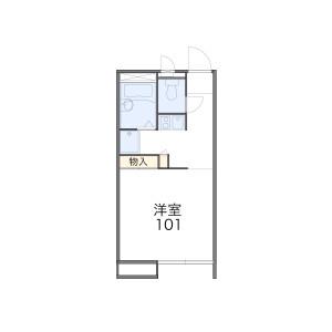 1K Apartment in Imai nishimachi - Kawasaki-shi Nakahara-ku Floorplan