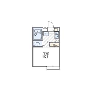 1K Apartment in Karasawa - Fujisawa-shi Floorplan