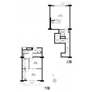 2LDK {building type} in Seto - Yokohama-shi Kanazawa-ku Floorplan