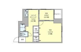 新宿区大久保-2DK公寓大厦