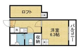 大阪市生野区 新今里 1K マンション