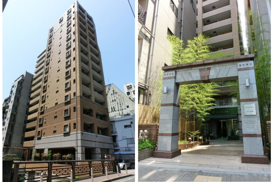 2LDK Apartment to Rent in Shibuya-ku Exterior