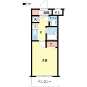 1K Mansion in Nakamuraminami - Nerima-ku Floorplan