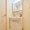 在新宿区购买1LDK 公寓大厦的 盥洗室
