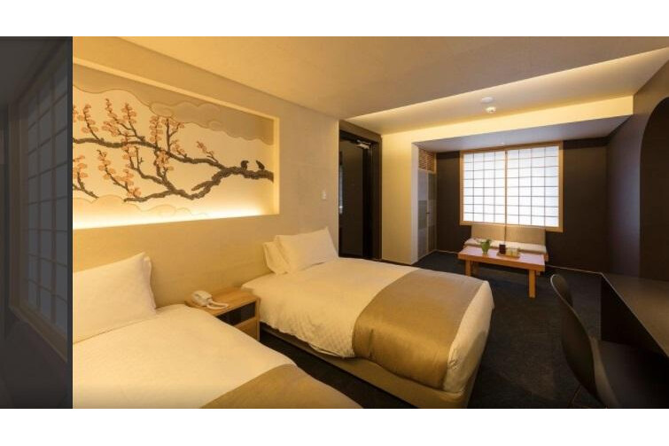 Whole Building Hotel/Ryokan to Buy in Kyoto-shi Shimogyo-ku Bedroom
