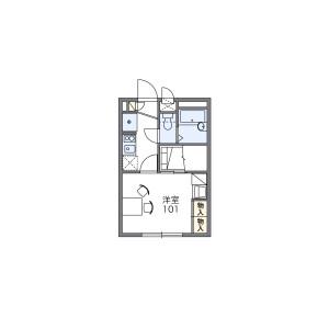 1K Apartment in Ikeda - Neyagawa-shi Floorplan