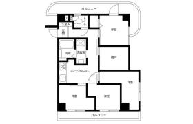 3SLDK {building type} in Shimomeguro - Meguro-ku