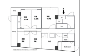 3DK Apartment in Horifune - Kita-ku