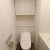 1R Apartment to Buy in Minato-ku Toilet