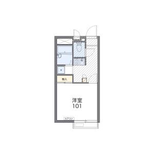 1K Mansion in Miyamotocho - Itabashi-ku Floorplan