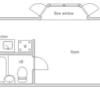 1R Apartment to Buy in Suginami-ku Floorplan