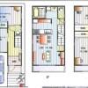 在大阪市東住吉区购买3LDK 独栋住宅的 楼层布局