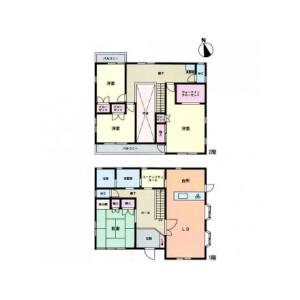 4SLDK House in Koyabe - Yokosuka-shi Floorplan