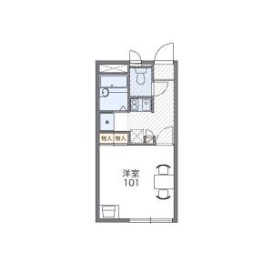 1K Mansion in Senju midoricho - Adachi-ku Floorplan