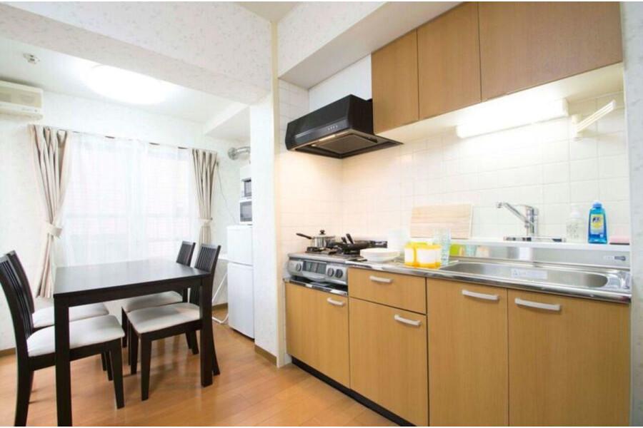 1R Apartment to Rent in Sapporo-shi Shiroishi-ku Kitchen