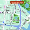 1LDK Apartment to Rent in Minato-ku Map
