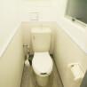 2LDK Apartment to Rent in Suginami-ku Toilet