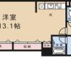 1K マンション 京都市中京区 間取り