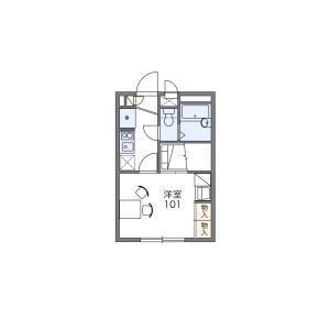 1K Mansion in Takasago - Katsushika-ku Floorplan