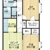 1SLDK Apartment to Rent in Ageo-shi Floorplan