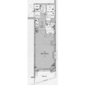 1K Mansion in Wakaba - Shinjuku-ku Floorplan