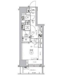 港区南青山-1K公寓大厦 楼层布局