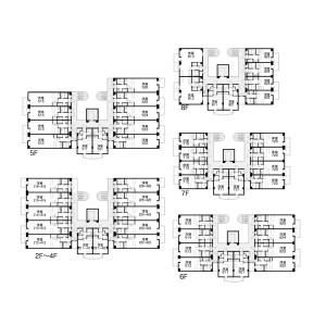 1K Mansion in Sumiyoshi - Fukuoka-shi Hakata-ku Floorplan