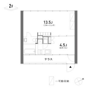 1LDK Mansion in Hommachi - Shibuya-ku Floorplan