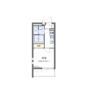 1K Mansion in Arakawa - Arakawa-ku Floorplan