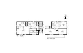 4LDK House in Kamitomino - Kitakyushu-shi Kokurakita-ku