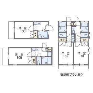 1K Apartment in Ichinohashi nomotocho - Kyoto-shi Higashiyama-ku Floorplan