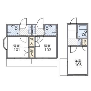 1K Mansion in Miyasaka - Setagaya-ku Floorplan