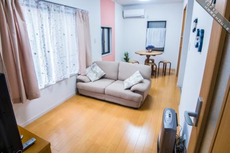 Shared Guesthouse to Rent in Kiyose-shi Living Room