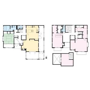 横濱市都筑區平台-3SLDK{building type} 房間格局
