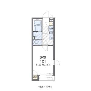 1K Apartment in Hirano - Adachi-ku Floorplan