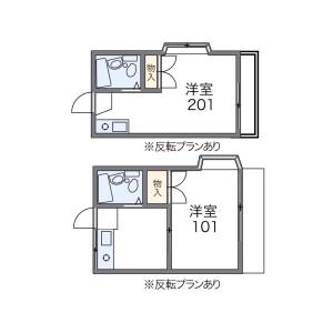 1K Apartment in Takaishi - Kawasaki-shi Asao-ku Floorplan