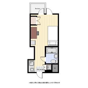 1R Mansion in Kyodo - Setagaya-ku Floorplan