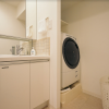 1K Apartment to Rent in Minato-ku Washroom