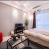 在新宿区内租赁1R 公寓大厦 的 卧室