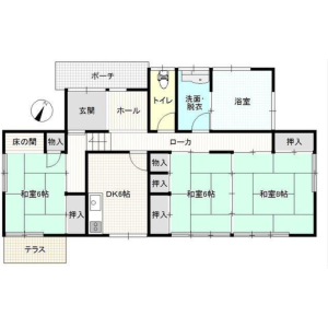 Whole Building {building type} in Yawatano - Ito-shi Floorplan
