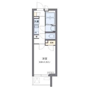 1K Mansion in Yamatocho - Nakano-ku Floorplan