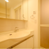 1LDK Apartment to Rent in Ota-ku Washroom