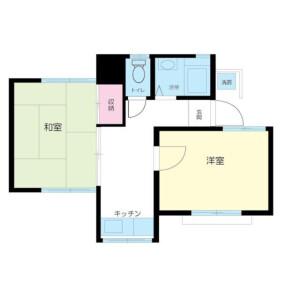 2K Apartment in Asagayakita - Suginami-ku Floorplan