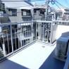 1K マンション 新宿区 バルコニー・ベランダ