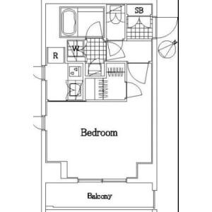 1K Mansion in Higashioi - Shinagawa-ku Floorplan