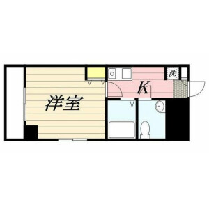 1K Mansion in Sakuragaoka - Setagaya-ku Floorplan
