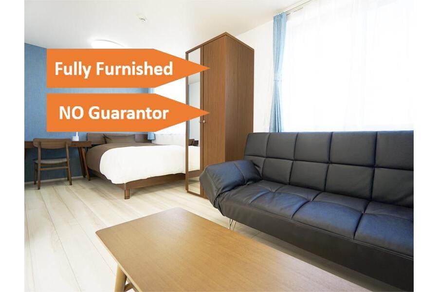 1DK Apartment to Rent in Shibuya-ku Bedroom